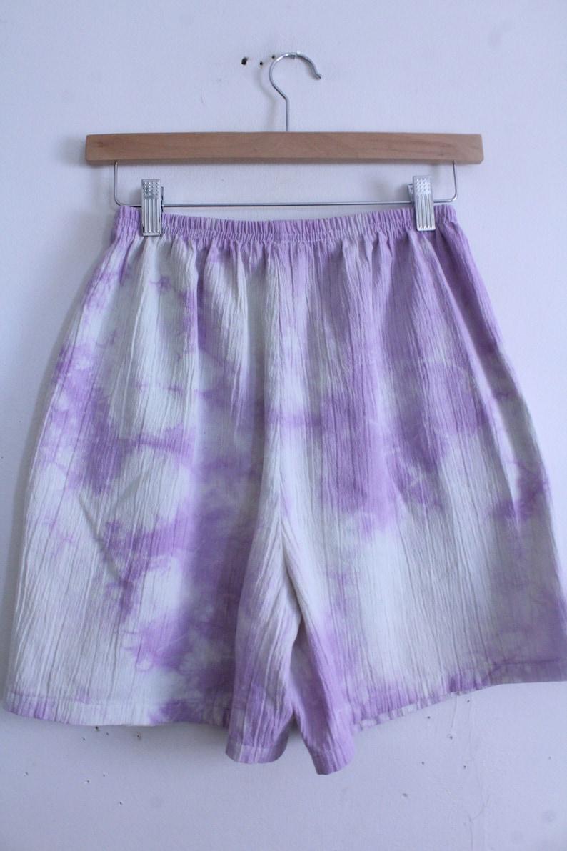 Pastel Tie Dye 90s Shorts