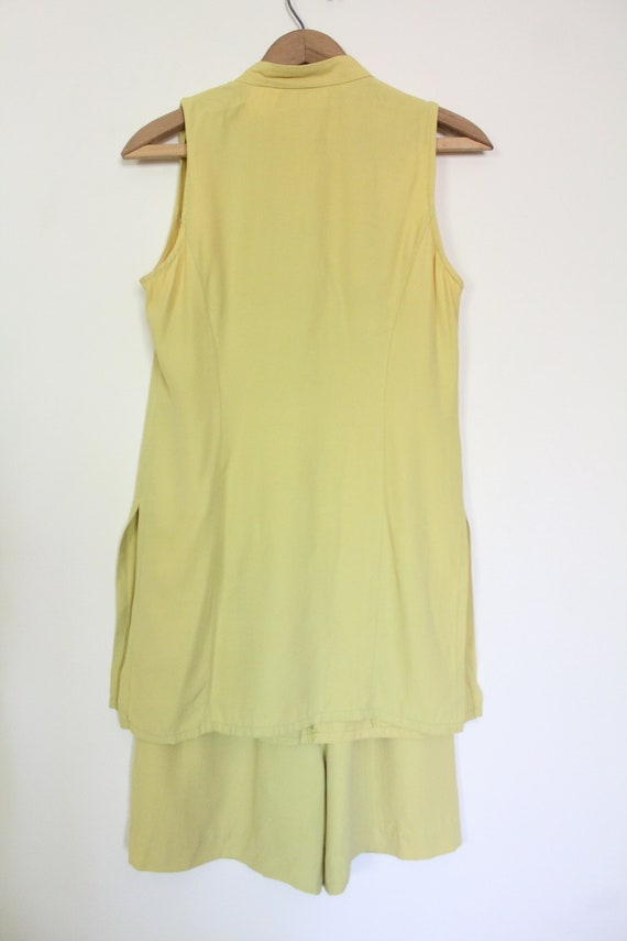 Chartreuse Luxe 90s Matching Set - image 8