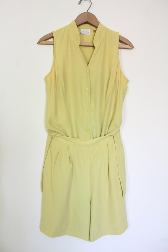 Chartreuse Luxe 90s Matching Set - image 4
