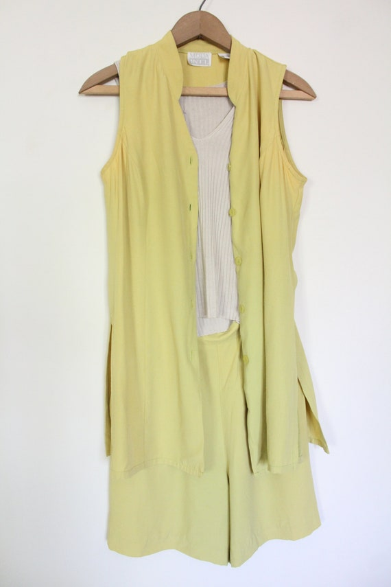 Chartreuse Luxe 90s Matching Set - image 3