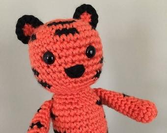 PATTERN Crochet Zodiac Tiger Amigurumi
