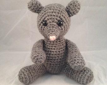 PATTERN Crochet Zodiac Rat Amigurumi