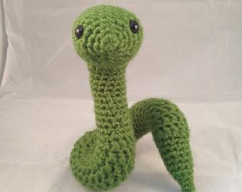 PATTERN Crochet Zodiac Snake Amigurumi