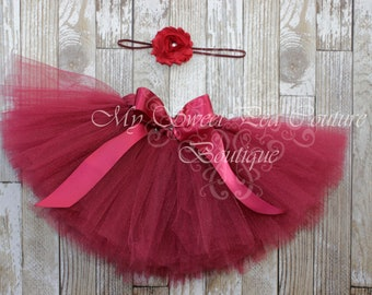 Nwt Boutique Cr Kids Red Layered Tee Tutu Skirt Set 3t Baby & Toddler Clothing