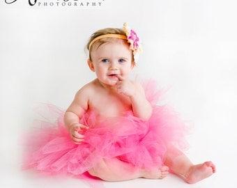 You Choose- Tutu- Princess Tutu- Baby Tutu- Tutu- Baby Tutu- Toddler Tutu- Birthday Tutu- First Birthday Tutu- Photo Prop- Size 0-24M