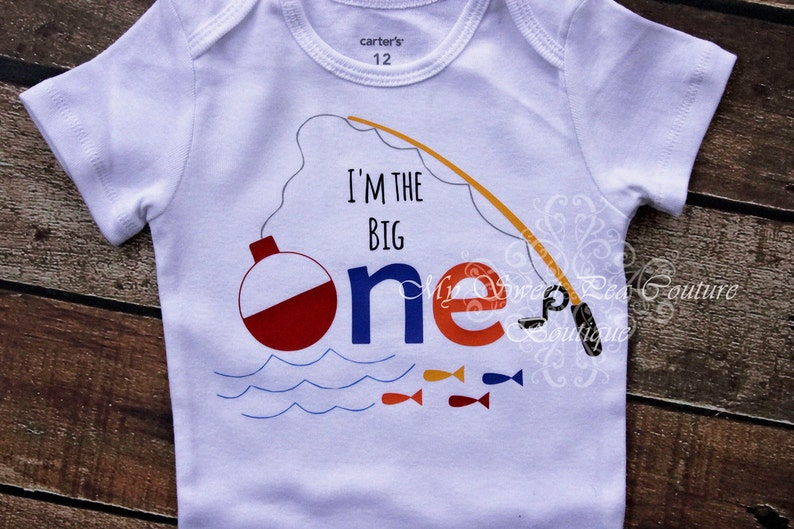 Im The Big One First Birthday Boy Shirt
