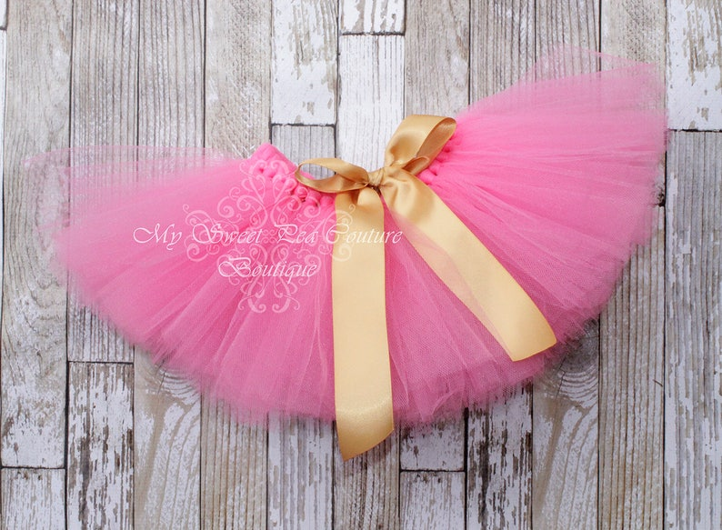 Gold /& Hot Pink First Birthday Tutu Outfit 1st Birthday Shirt Glitter Birthday Cake Smash 1st Birthday Outfit One Cake Smash Outfit