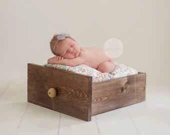Gray Mini Bow Headband- Baby Headbands- Newborn Headbands- Infant Headbands- Toddler Headbands- Girls Headbands