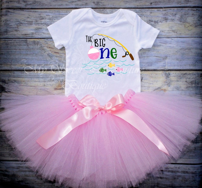 The Big One First Birthday Outfit First Birthday Shirt 1st Birthday Fishing First Birthday Outfit Fishing Birthday Big One Birthday Shirt