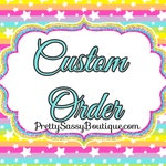Custom order-Taggart
