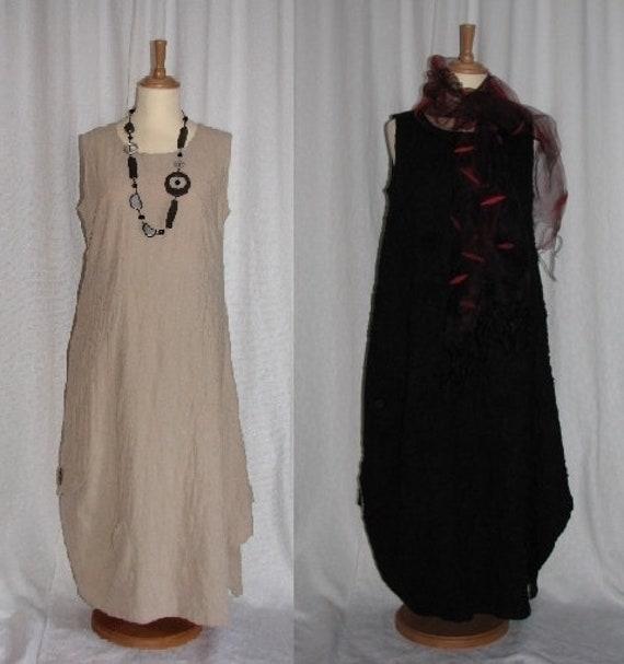 Lagenlook Einzel Schnittmuster für Kleid Pompeji   Etsy