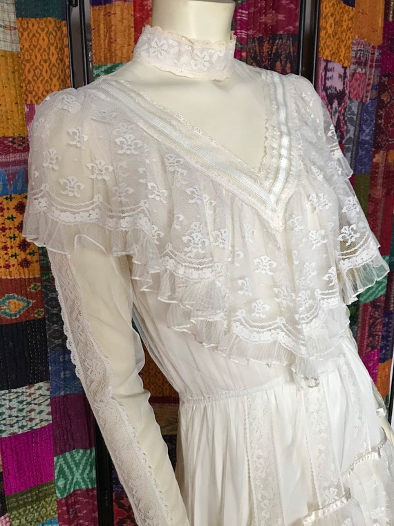 Gunne Sax Vintage 1970s, Gunne Sax Bridal Dress, 7