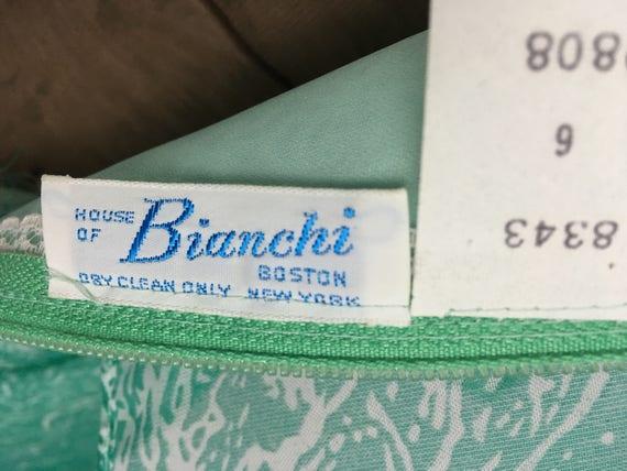 1970s Maxi Dress - House of Bianchi - Vintage Gre… - image 5