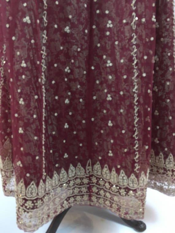 Vintage Maxi Skirt - Vintage Indian Maxi Skirt - … - image 6
