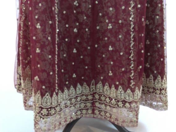 Vintage Maxi Skirt - Vintage Indian Maxi Skirt - … - image 5