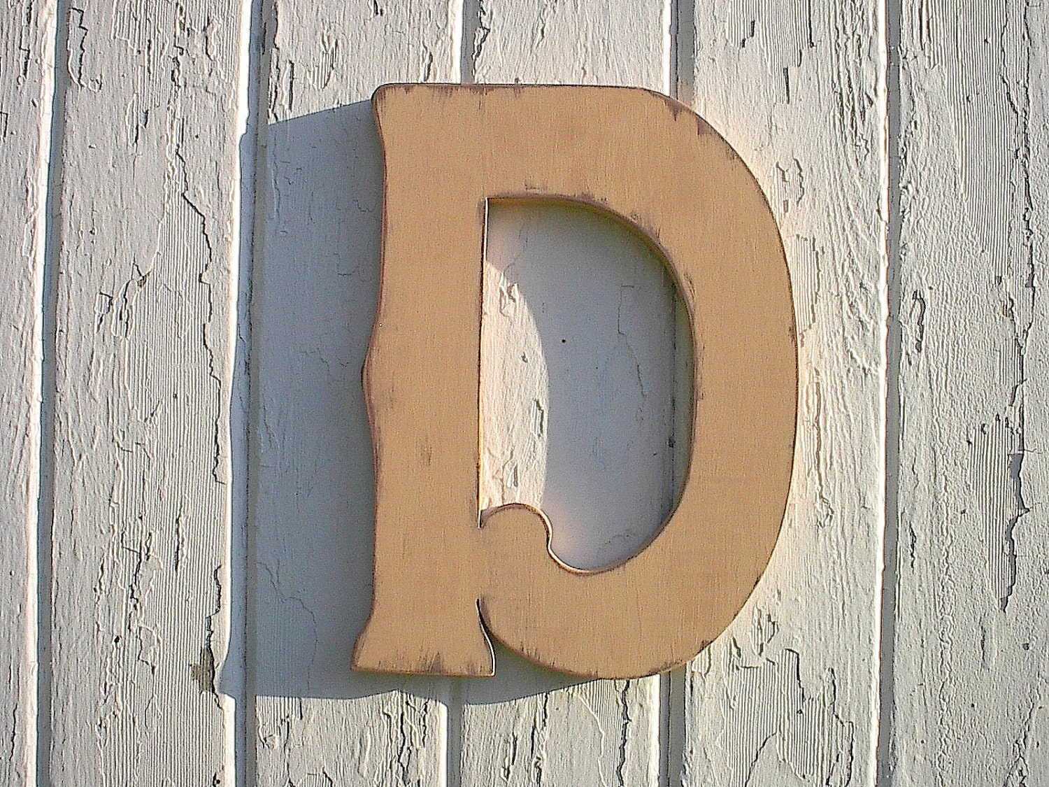 Wooden Wall Hanging Personalized Letter D 12 Nursery Etsy
