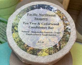 Tea Tree & Cedarwood Conditioner Bar