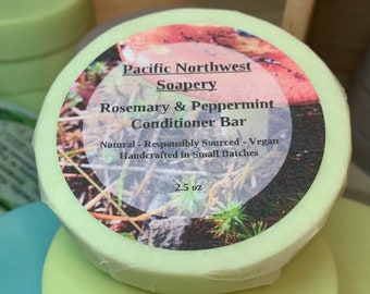 Rosemary & Peppermint Conditioner Bar