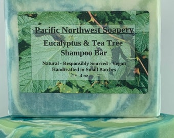 Eucalyptus & Tea Tree Shampoo Bar