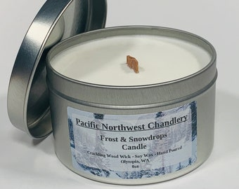 Frost & Snowdrops Candle
