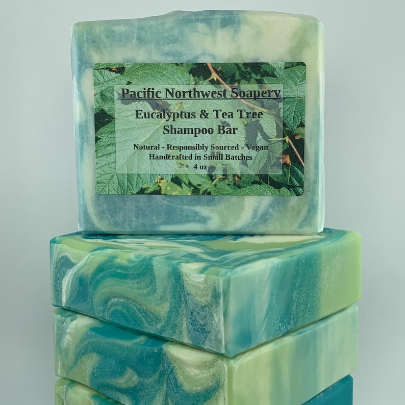 Eucalyptus & Tea Tree Shampoo Bar image 0