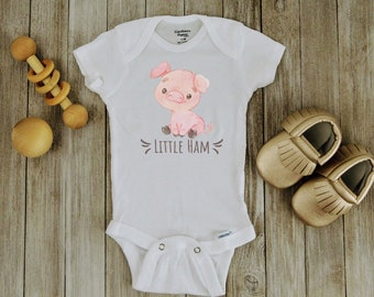 Farm Onesie\u00ae Funny Onesies Mamma/'s Little Piggy Onesie\u00ae Mom Onesie Pig Onesie Farm Baby Shower Girl Farm Baby Bodysuit Farm Clothes