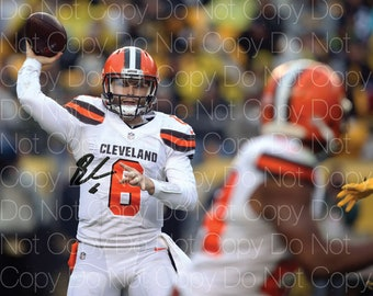 Baker Mayfield signed Cleveland Browns 8X10 photo picture poster autograph  RP 3 a8a6aea1f