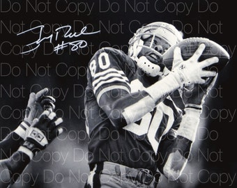 491bfff79e1 Jerry Rice signed San Francisco 49ers 8X10 photo picture poster autograph RP