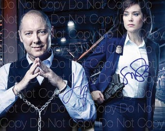 BlackList 3 signed photo James Spader Megan Boone 8X10 inch picture poster autograph RP