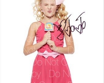 JoJo Siwa signed Dance Moms 8X10 photo picture poster autograph RP 3