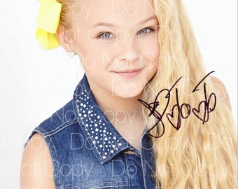 JoJo Siwa signed Dance Moms 8X10 photo picture poster autograph RP 1
