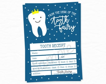 tooth fairy letter tooth fairy receipt tooth fairy certificate tooth fairy accessories tooth fairy report lost tooth tooth fairy note