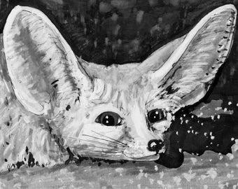 Wüstenfuchs Fuchs Handyanhänger Miniblings Wüste Tier Füchse Fennek Gummi