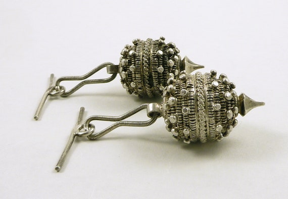 Two old Dalmatian toggle buttons, big size, Croati