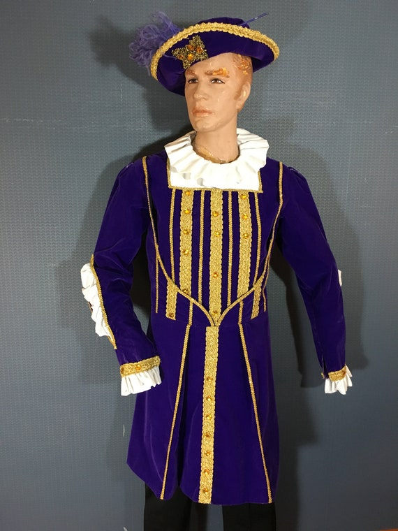 Renaissance Prince in Purple