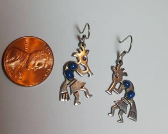 Vintage Kokopelli Earrings