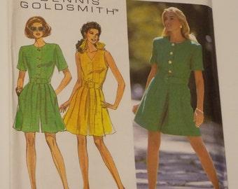 Vintage Dennis Goldsmith Simplicity Pattern 8291 Size 12 - 16