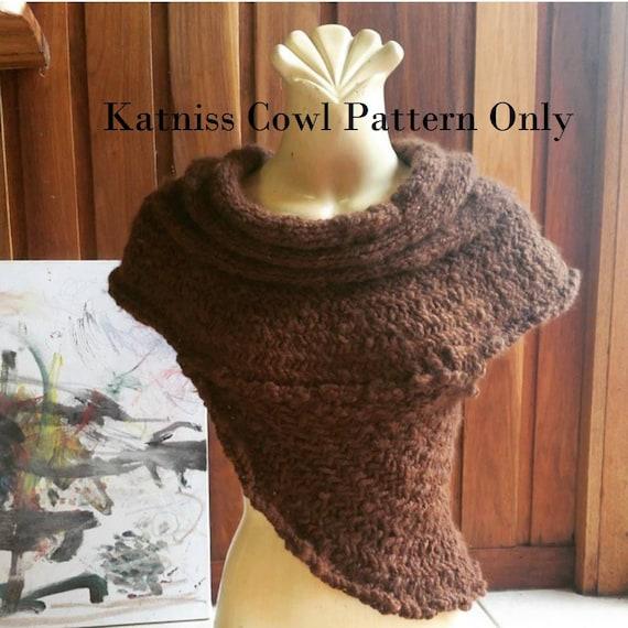 Katniss Cowl Knitting Pattern Etsy