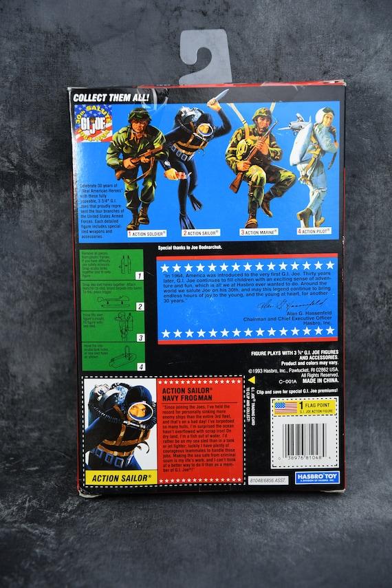 Hasbro GI Joe 1964-1994 Commemorative Collection Action Sailor Navy Frogman NIB