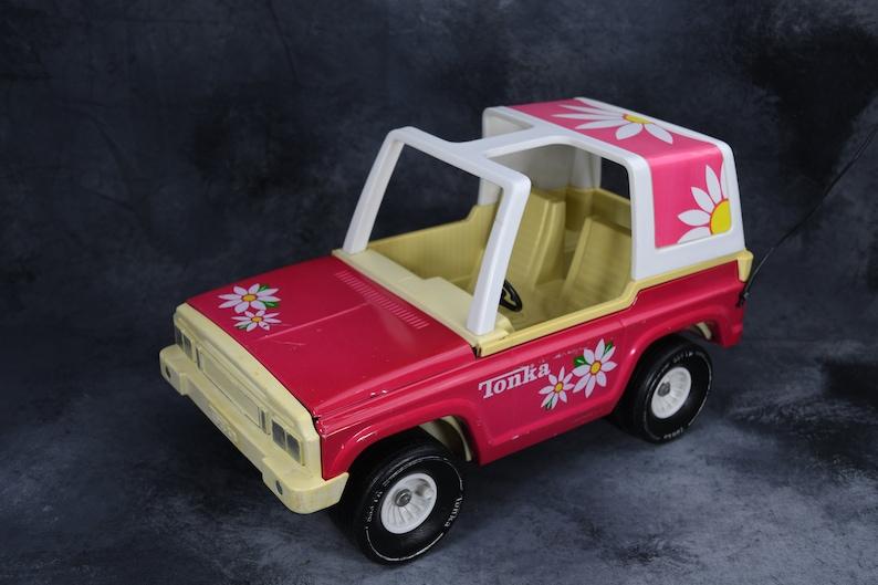 1970/'s Pink Tonka Jeep Bronco for Barbie