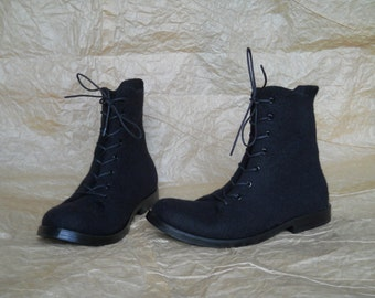 Men hand-felted boots DOPPIO-2