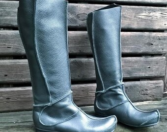 Leather boots KAYA