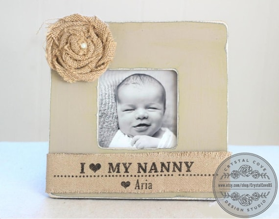 Nanny Gift Grandma Grandmother Personalized Picture Frame | Etsy