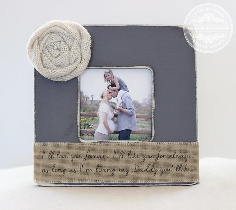 I Love My Daddy to the Moon and Back 8x8 Frame