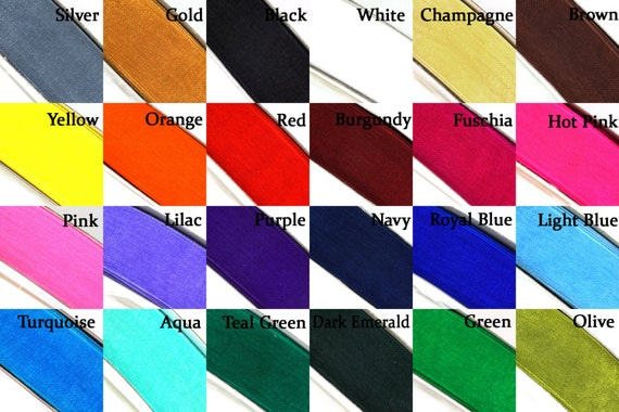 "Wedding Crafts Sheer Organza Ribbon Color Choose 10mm 50 Yards 3//8/"""
