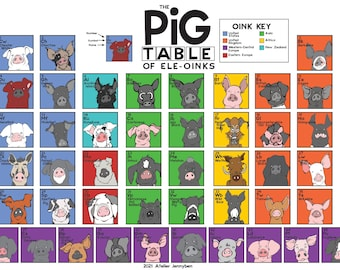 The Pig Table of Ele-Oinks