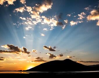 Sunset at Vega Colorado 2017
