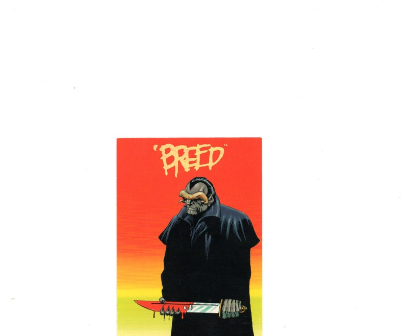 1993 . Breed #14 Creators Universe card Jim Starlin