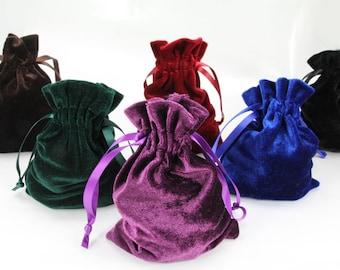 "10pcs Jewelry Velvet 4""x6"" Bags Drawstring Pouches Gift Wedding Favors Medium"