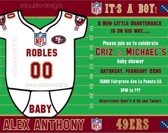 official photos cf452 f0942 49ers baby | Etsy